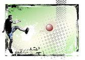 Kickball poster 2 — Stock Vector