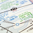 Vancouver aeronautical map. — Stock Photo