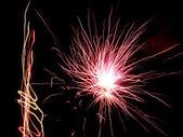 Feuerwerk platzt. — Stockfoto