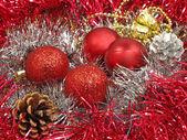 Christmas balls. — Stock fotografie