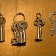 Old keys. — Stock Photo