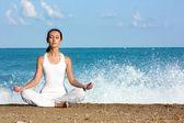 Yoga meditasyon — Stok fotoğraf