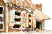 House made from flour and sugar — Stock Photo