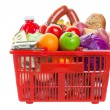 Shopping basket — Stock Photo #7914002