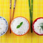 Rice bowls — Stock Photo
