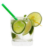 Lime cocktail — Stock Photo