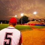 Evening baseball — Stock Photo #7929847