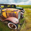 Vintage cars - Stock Photo