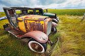 Vintage cars — Stock Photo