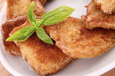 Fried Soy Meat — Stock Photo