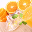Fresh Orange Juice — Stock Photo