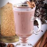 Hot chocolate — Stock Photo