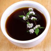 Herbata z miętą — Zdjęcie stockowe