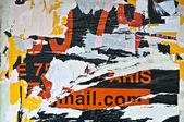 Arrière-plans et les vieilles affiches grunge textures — Photo