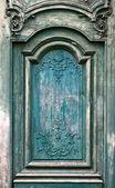 Holztür grunge texturen und hintergrund. — Stockfoto