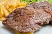 šťavnatý steak z hovězího masa — Stock fotografie