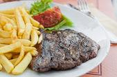 Juicy steak beef meat — Stock Photo