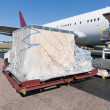 Loading cargo plane — Stock Photo #6769336