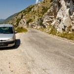 Narrow route - Balkans, Montenegro — Stock Photo