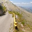 Narrow route in Montenegro — Stock Photo