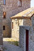Narrow alley in Ulcinj - Montenegro, Balkans — Stock Photo
