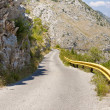 Mountain route to Skadarsko lake. Montenegro — Stock Photo