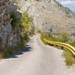Mountain route to Skadarsko lake. Montenegro — Stock Photo
