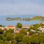 Coast of Skadarsko lake - Montenegro — Stock Photo
