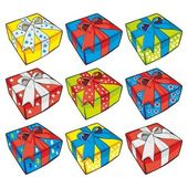 Vector illustration of gift boxes — Stock Vector