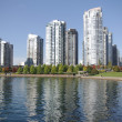 Stock Photo: False creek in Vancouver