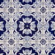 Portuguese mosaic azulejo — Stock Photo #7358913