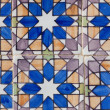 Portuguese mosaic azulejo — Stock Photo #7885099