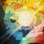 Abstract Grunge-Zusammensetzung — Stockfoto