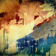 Stock Photo: Abstract grunge colorful background