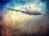 Aviation grunge background — Stock Photo