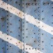 Stock Photo: Metal texture with rivets