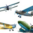 Stock Photo: Retro planes