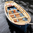 Stock Photo: Old wooden boat