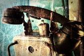 Grunge 工业电话 — 图库照片