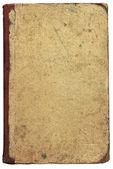 Cubierta de libro viejo, aislado — Foto de Stock