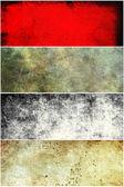 Conjunto de banderas — Foto de Stock