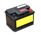 Car battery — Stock Photo