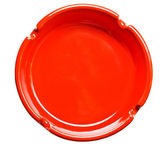 Red ashtray — Stock Photo