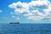 Ship at sea — Stock Photo