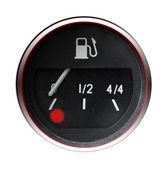 Old car fuel indicator — Stock Photo