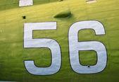 Aircraft fuselage — Stock Photo
