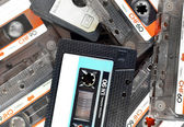 Audio compact cassettes — Stock Photo