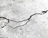 Surface with crack — Stockfoto