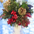 Christmas bouquet — Stock Photo #7955209