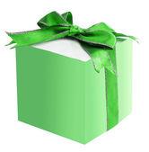 礼品盒缎带蝴蝶结 — 图库照片